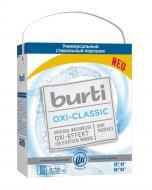 Пральний порошок для машинного та ручного прання Burti з Oxi-ефектом для білої та світлої білизни 5,7 кг