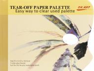 Палітра паперова універсальна 40 листів