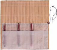 Пенал для пензликів бамбуковий 33*33см D.K. Art & Craft