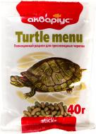 Корм Акваріус Turtle menu 40 г 4952