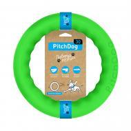 Игрушка для собак PitchDog кольцо для апортировки d 28 см салатовое
