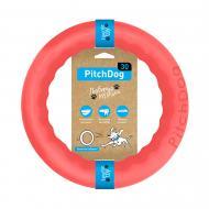 Іграшка для собак PitchDog кільце для апортування d 28 см рожеве