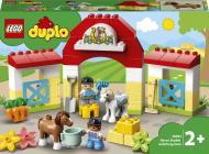 Конструктор LEGO DUPLO Стайня та догляд за поні 10951