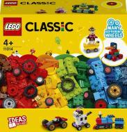 Конструктор LEGO Classic Кубики й колеса 11014
