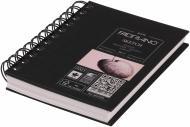 Блокнот для ескізів на спіралі A6 105*148 см 110г/м² 80 аркушів Fabriano