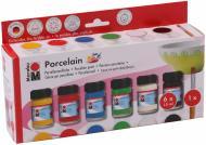 Набір фарб для розпису кераміки  Porcelain 15 мл Marabu