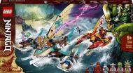 Конструктор LEGO Ninjago Морський бій на катамаранах 71748