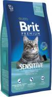 Корм Brit Premium Adult Sensitive 1,5 кг