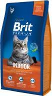 Корм Brit Premium Adult Indoor 1,5 кг