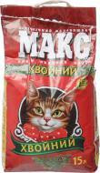 Наповнювач для котячого туалету Макс Хвойний 4,5 кг