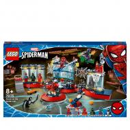 Конструктор LEGO Super Heroes Marvel Людина-Павук: напад на павуче лігво 76175