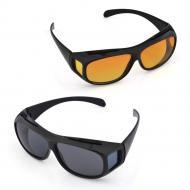 Антибликовые очки для водителей HD Vision Wrap Arounds 2 шт (V2579)