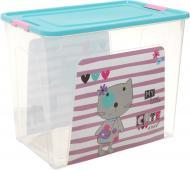 Контейнер для зберігання пластиковий Алеана «Smart Box» Pet Shop 40 л 395x320x495 мм