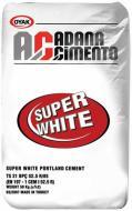 Цемент білий ADANA 25 кг