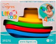 Игрушка для ванны Тигрес Набор корабликов 4 шт.