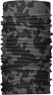 Бандана-трансформер (Бафф) Серый с черным (BT001/5)