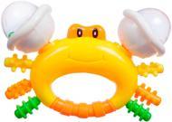 Іграшка-прорізувач Bebelino Крабик 58063