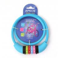 Замок велосипедний Apecs PD-85-65-CM-CODE-BLUE