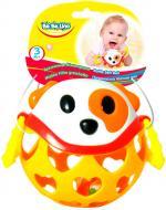 Игрушка-погремушка Bebelino Мягкий мяч Собака 58059