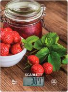 Весы кухонные Scarlett SC-KS57P61 клубника