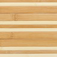 Шпалери бамбукові LZ-0808 17/7,5 мм 1,5 м коричневі/натуральні