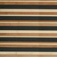 Шпалери бамбукові LZ-0812 17/17/7,5 мм 1,5 м чорні/коричневі/натуральні