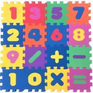 Килимок-пазл Термоізол Весела математика 13х13 см 16 шт.