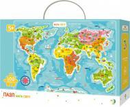 Пазли DoDo Мапа світу 300110/100110