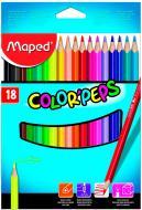 Олівці кольорові Color Peps Classic 18 кольорів Maped