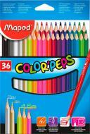 Олівці кольорові Color Peps Classic 36 кольорів Maped