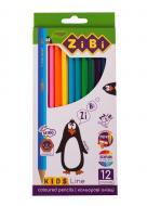 Олівці кольорові KIDS LINE ZB.2414 ZiBi