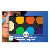 Косметичний набір Djeco Грим для обличчя 6 кольорів Природа