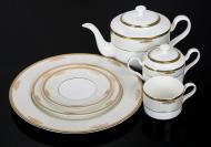 Сервіз чайний Ancient Gold 21 предмет на 6 персон Fiora