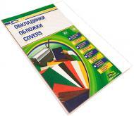 Обкладинка для брошурування D&A art картон під шкіру Delta Color A4 білий 1220101020300 230 мкм 100 шт.