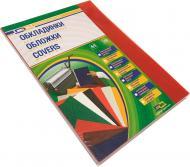 Обкладинка для брошурування D&A art ПВХ А4 прозорий/червоний 1220102020600 180 мкм 100 шт.