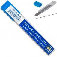 Набір грифелів HB 0.7 мм 12 шт. сірий BM.8698 Buromax