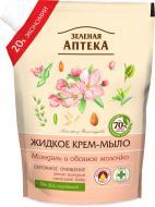 Мыло жидкое Зеленая аптека Миндаль и овсяное молочко 460 мл