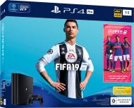 Ігрова консоль Sony PlayStation 4 Slim 1Tb FIFA 19 (9765912) black