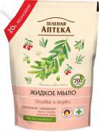 Мыло жидкое Зеленая аптека Оливка и годжи 460 мл