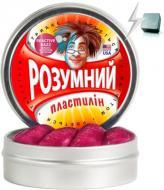 Пластилін Thinking Putty розумний червоно-фіолетовий магнітний