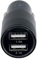 Автомобільний зарядний пристрій Ergo EСC-221 (B)