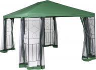 Павильон садовый UP! (Underprice) с москитной сеткой DU171 Green 3x4 м