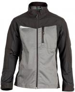 Куртка рабочая Sizam Liverpool эластичная р. XXXL рост универсальный 30113 черный с серым