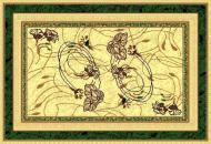 Килим Карат Gold 094/123 0,6x1,1 м