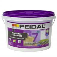 Краска акриловая Feidal Innenlatex Seidenmatt шелковистый мат белый 2,5л