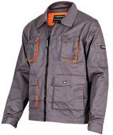 Куртка рабочая Sizam Newcastle р. XL рост универсальный 30219 серый с оранжевым