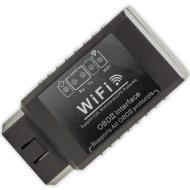 Диагностический WiFi сканер Konwei OBD2 адаптер ELM327 v2.1 для диагностики авто (1162-2319)