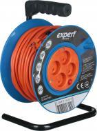 Удлинитель на катушке Expert Power ПВС 2х1,5 3,5 кВт без заземления 4 гн. оранжевый 25 м DG-CR4E2G15M25