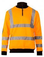 Толстовка Sizam Brighton сигнальная р. S рост универсальный 30222 оранжевый