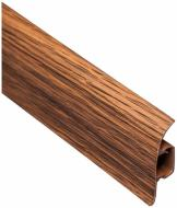Плінтус ПВХ TIS дуб преміум 18х56х2500 мм